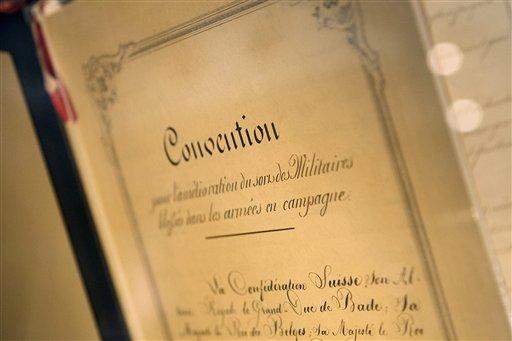 SWITZERLAND GENEVA CONVENTIONS 60th ANNIVERSARY