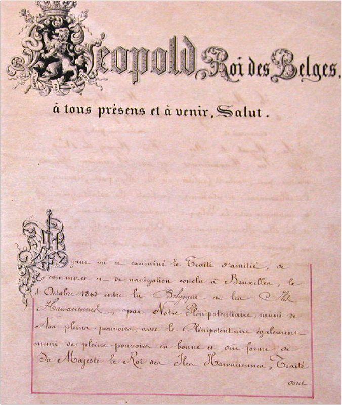 Belgium Treaty
