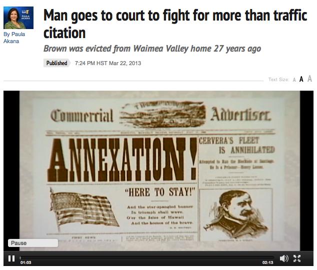 KITV News_Brown