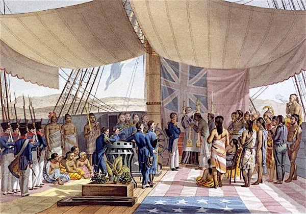 Baptism of Kalanimoku