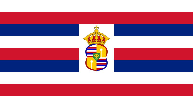 The Hawaiian National Flag And Royal Flag Hawaiian Kingdom Blog