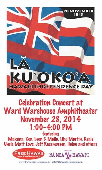 La Ku'oko'a Concert
