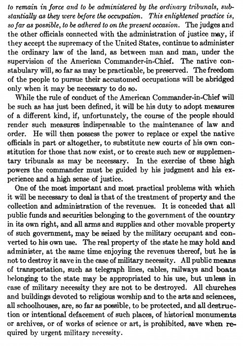 McKinley's Gen. Order for Occupation_Page_2
