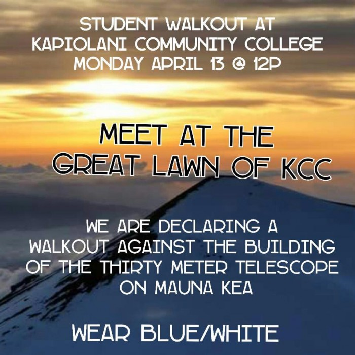 KCC_Student_Walkout