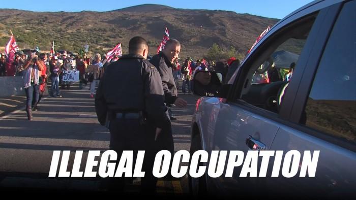 Mauna Kea Illegal Occupation