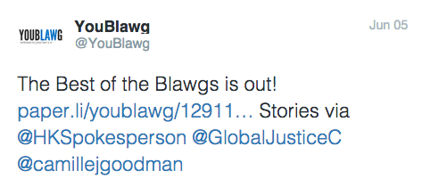 Best of the Blawgs Twitter