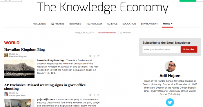 Knowledge Economy Blog